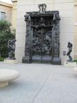 Poarta infernului de Rodin la Stanford University (Foto ELBureriu)