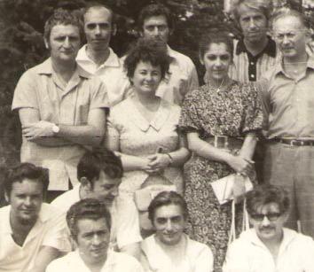 ORIZONT, 1972. Stânga jos -subsemnatul